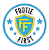 Footie First – Mumbai's leading football coaching academy Logo