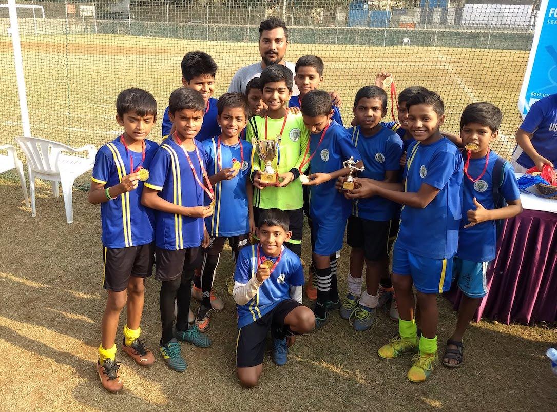 Juhu Hamara Football Fiesta 2019 - U13 Winners Footie First