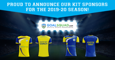 Footie First - Goalsquad Announcement